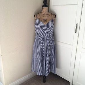 Dresses & Skirts - Blue and white sundress size XL